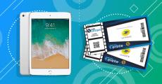 A gagner : 300 places de cinéma + 1 tablette iPad 128Go