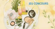 Coffret de produits de beauté (parfum, mascara, rouge à lèvres…) à gagner 4.6 (23)