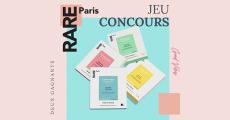 Coffrets de soins Rare Paris à gagner