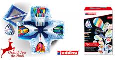 A gagner : 30 coffrets de feutres Edding Colour Happy