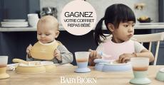 Coffrets repas bébé BabyBjörn à gagner