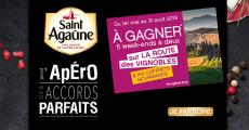 En jeu : 150 coffrets gourmands, 5 week-ends sur la Route des Vignobles