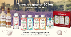 30 coffrets d'huiles et vinaigrettes La Tourangelle offerts