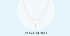 Tentez de gagner 10 colliers double Oscar Bijoux