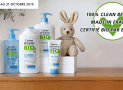 A remporter : 5 lots de produits bio pour bébé Corine de Farme