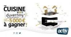 Tentez de remporter une cuisine Duvernoy de 5000€ 4.3 (7)