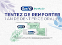 100 lots d'un an de dentifrices Oral-B à remporter