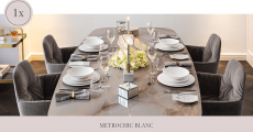 A gagner : 11 ensembles de vaisselle MetroChic Blanc de Villeroy & Boch