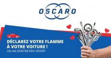 Tentez de remporter 1 an d'entretien Oscaro 0 (0)