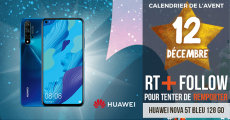 Tentez de remporter 1 smartphone Huawei Nova 5T