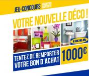 1 bon d'achat IKEA de 1000€ à gagner !