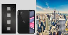 En jeu : 1 voyage à New York, 1 iPhone 11 et 1 porte d'entrée ALU