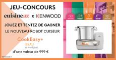 Tentez de remporter 1 robot cuiseur Kenwood de 999€