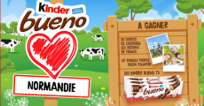 110 lots de chocolat Kinder Bueno à remporter