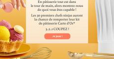 30 kits de pâtisserie Carte d'Or offerts