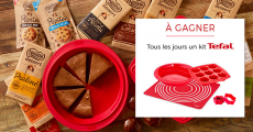 Tentez de gagner 181 kits de pâtisserie Tefal