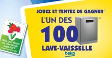100 lave-vaisselles Beko de 549€ à remporter
