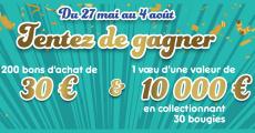 En jeu : un vœu de 10 000€ + 200 bons d'achat Leader Price de 30€ 0 (0)