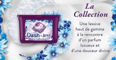 200 boîtes de lessive Dash & Lenor à remporter