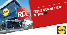 Tentez de remporter une carte cadeau Lidl de 200€ 4.9 (10)