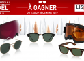 En jeu : 21 paires de lunettes solaires Ray-Ban + 4 masques de ski Oakley