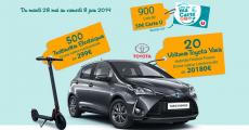En jeu : 20 voitures Toyota Yaris de 20'180€, 500 trottinettes électriques de 299€ et+