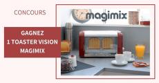 Tentez de remporter 3 grille-pain Magimix 5 (5)