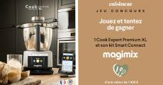 En jeu : 1 robot Magimix Cook Expert Premium XL de 1400€ 0 (0)