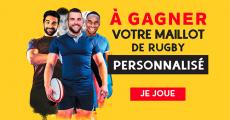A remporter : 500 maillots de rugby personnalisés 0 (0)