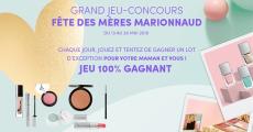 A gagner : 70 produits de maquillage Marionnaud