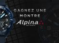 Tentez de gagner une montre Alpina de 845€