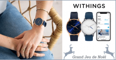 Tentez de gagner 5 montres Withings