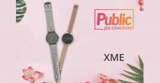 Tentez de remporter 5 montres XME