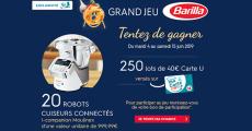 En jeu : 20 robots I-companion Moulinex de 999.99€ + 250 lots de 40€ carte U