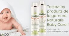 20 produits bio Baby Care de Naturalis à tester