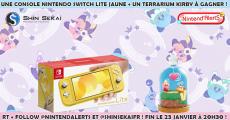 A gagner : 1 console de jeux Nintendo Switch Lite
