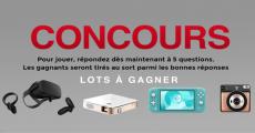 En jeu : 1 casque de réalité virtuelle Oculus de 500€, 1 Nintendo Switch Lite et+