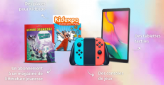 A gagner : 2 consoles Nintendo Switch, 2 tablettes Samsung Galaxy Tab A et+