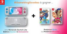 En jeu : 1 console de jeux Nintendo Switch Lite