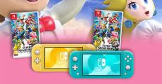 A gagner : 2 consoles de jeux Nintendo switch Lite