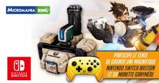 1 console de jeux Nintendo Switch Overwatch offerte