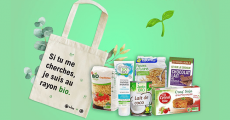 A remporter : 5 sacs en coton bio + 5 packs de produits bio