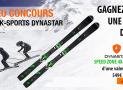 Tentez de gagner 1 paire de skis Dynastar