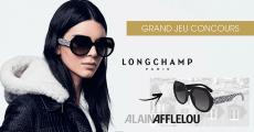 5 paires de lunettes Longchamp offertes