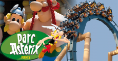 En jeu : 1 séjour au Parc Astérix de 929€ + 4 bandes dessinées Astérix