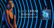 En jeu : parfum Black Opmium d'Yves Saint Laurant