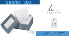 Tentez de gagner 12 parures de bijoux Clio Blue