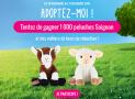 1000 peluches Soignon à remporter