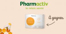 10 boîtes de compléments alimentaires Pharmactiv offertes