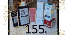 Tentez de remporter 1 lot de produits de beauté de 155€